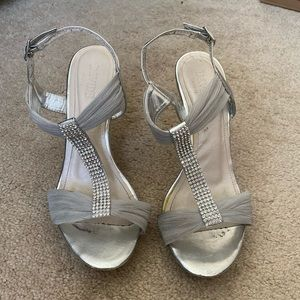 Silver(wedding or prom shoes )